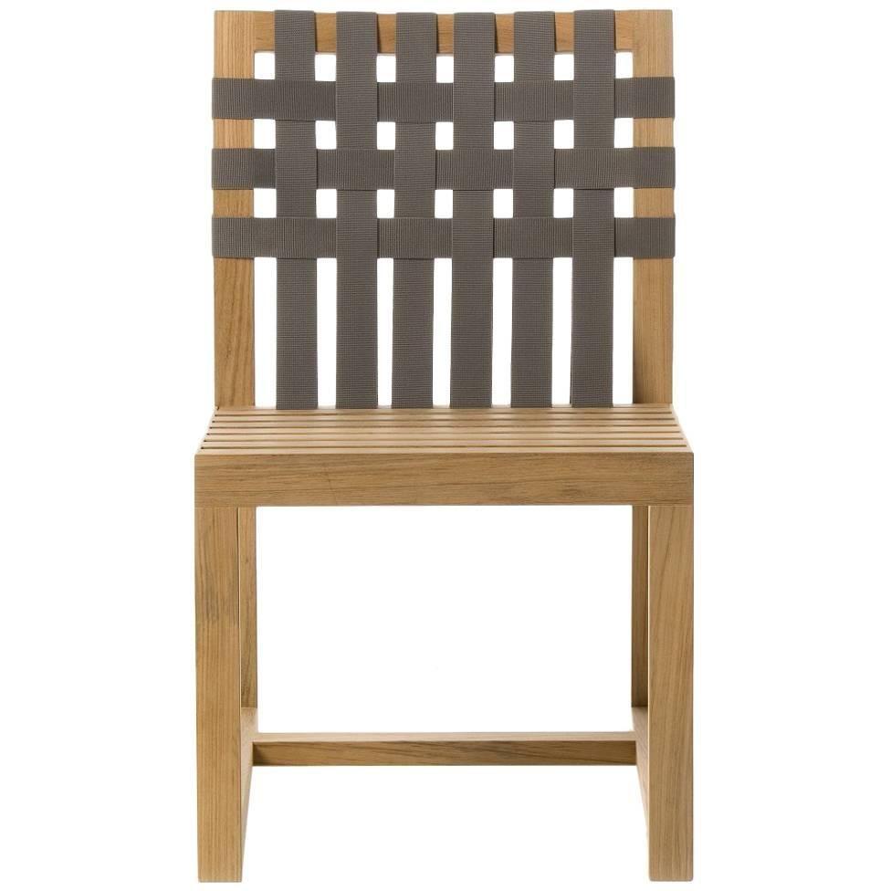 Roda Network 149 Outdoor Teak Side Chair