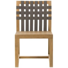 Roda Network 149 Outdoor Teak Side Chair