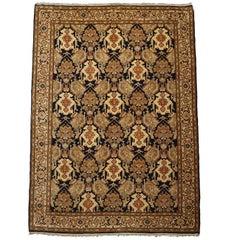 Persian Farahan Fine Hand-Knotted Wool Rug, circa 1970