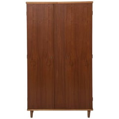 Danish Modern Armoire Wardrobe