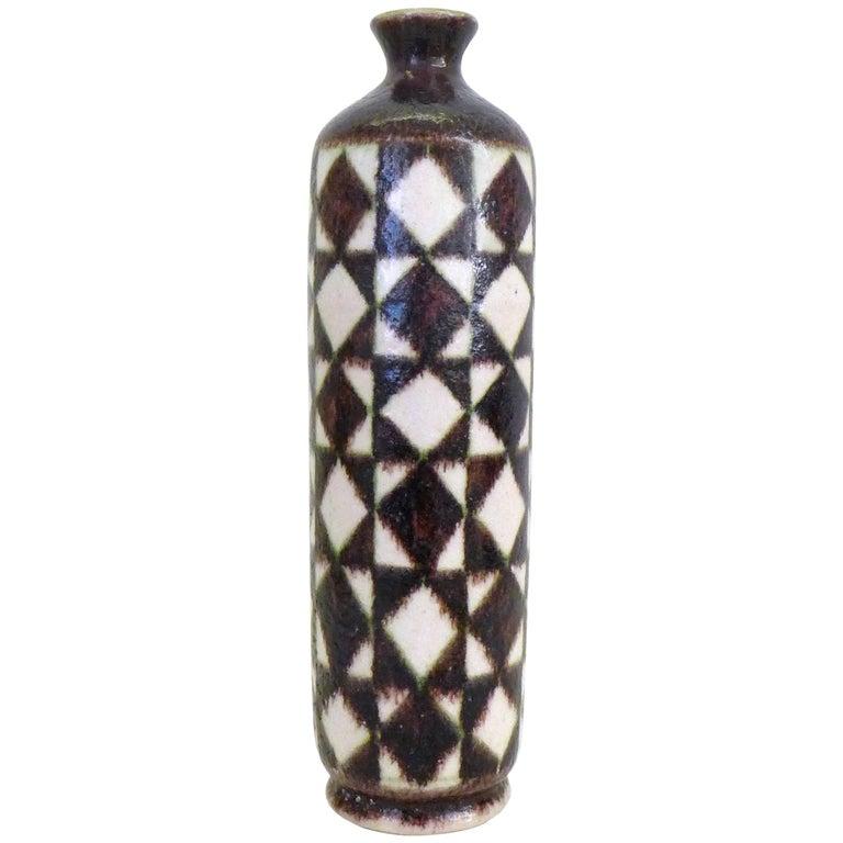 Glazed Ceramic Vase by Guido Gambone 1