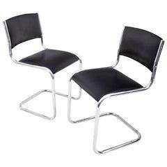 Black Swing Chairs, 20th Century