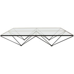 Huge Architectural Coffee Table Mod. Alanda by Paolo Piva