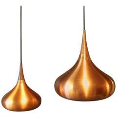 "Pair of ""Orient"" Pendants by Jo Hammerborg, 1960s"