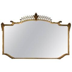 1940 Italian Mirror Attributed to Gio Ponti