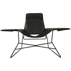 Love Chair, Black Modern Lounge Chair