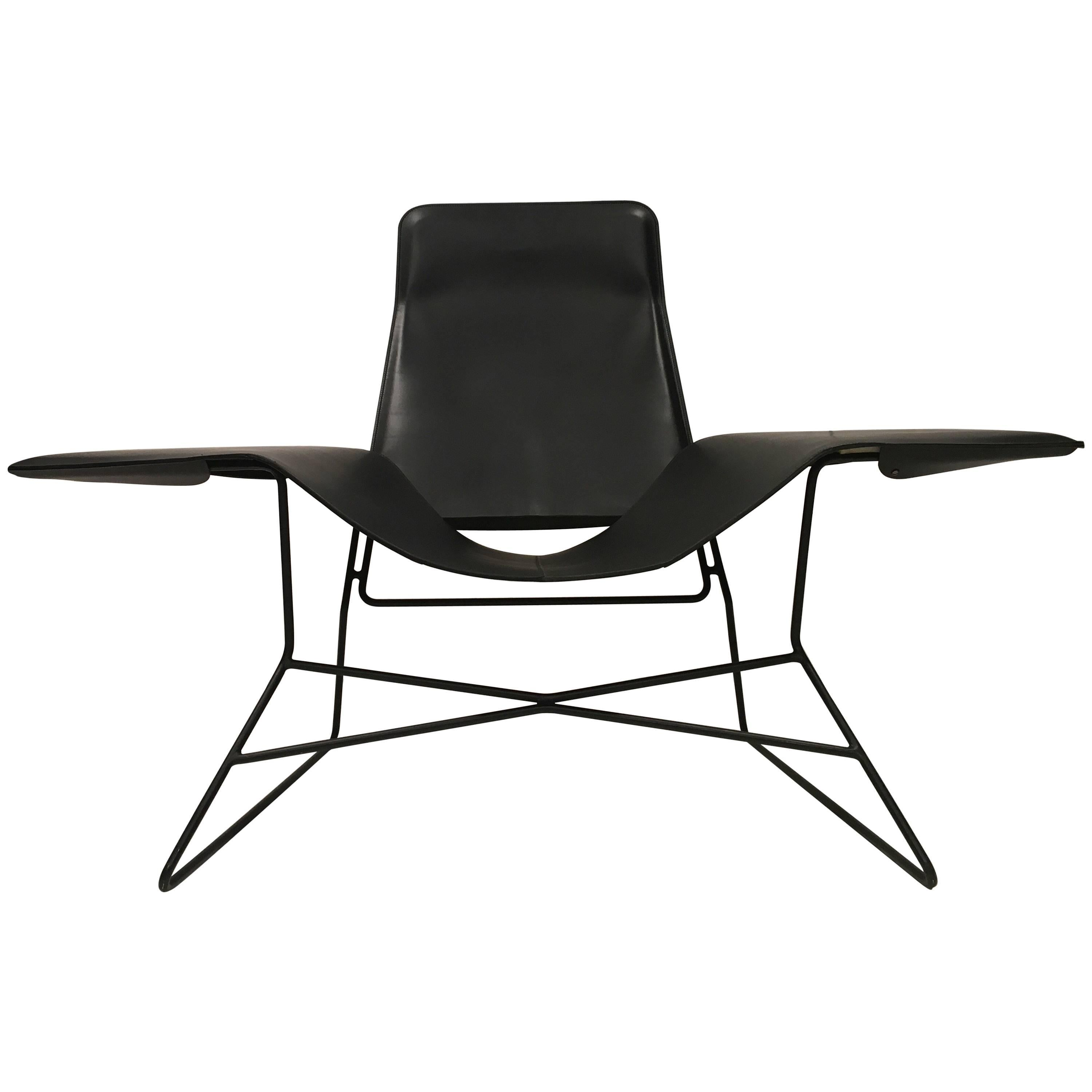 Love Chair Black Modern Lounge Chair For Sale  sc 1 st  1stDibs & Love Chair Black Modern Lounge Chair For Sale at 1stdibs