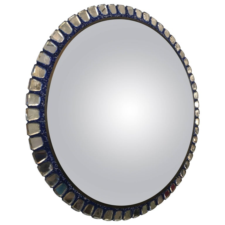 Line Vautrin Style Convex Mirror