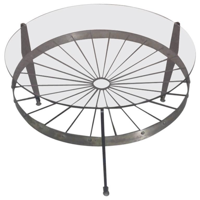 Coffee Table, Brass and Glass, Italian Design, 1960
