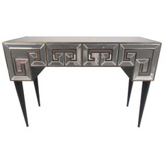 Decorator Console Table with Mirrored Finish