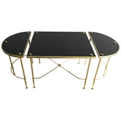 Maison Jansen Tri Part Coffee Table