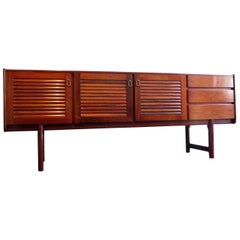 McIntosh Rosewood with Brass Handlers Sideboard