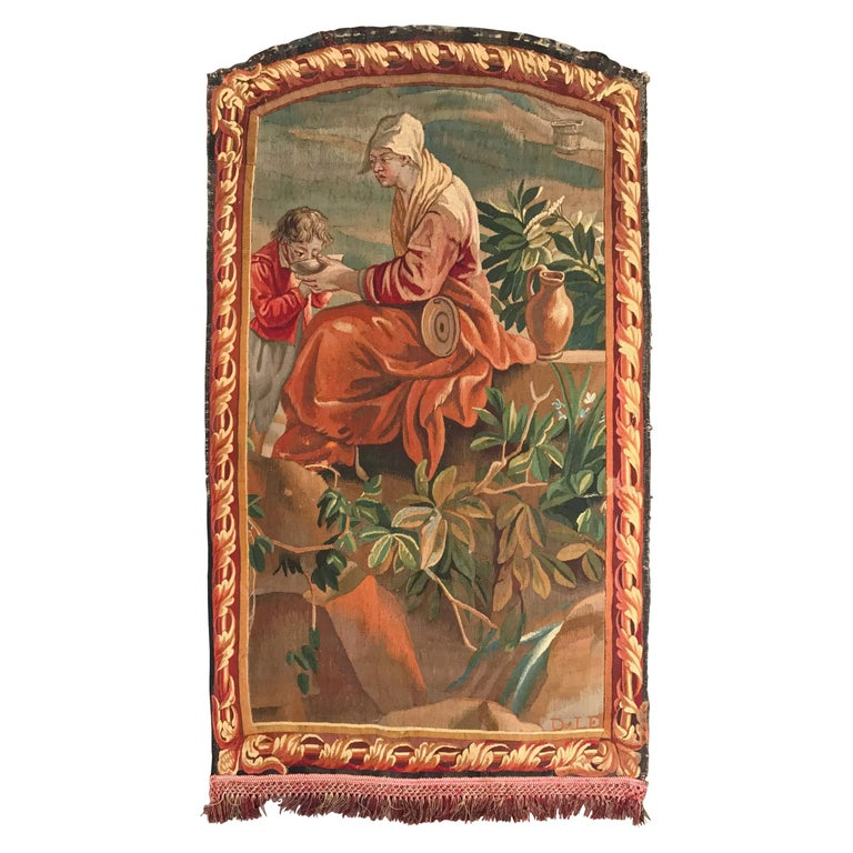 Early 19th Century French Wall Hanging Aubusson Tapestry