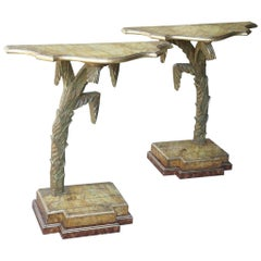 Early 20th Century Italian Console Tables from the Collection of Keith Richards