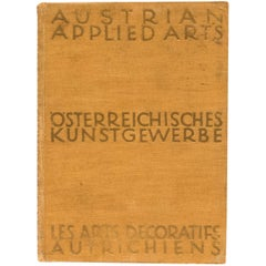 """Austrian Applied Arts"" Book"