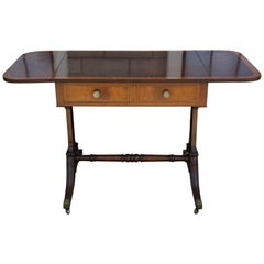 Late Victorian or Early Edwardian Mahogany Small Scale Sofa Table