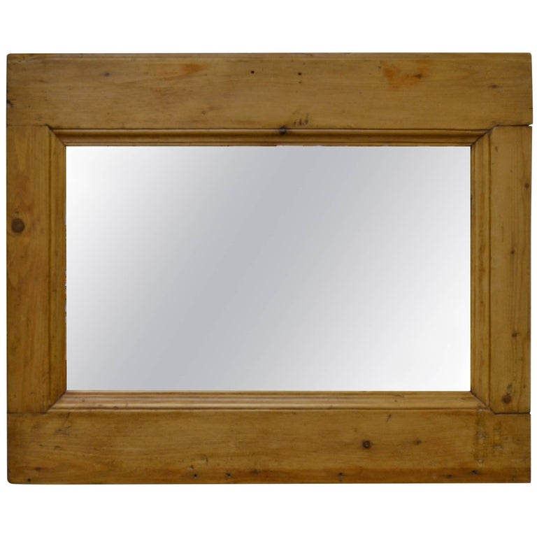 Antique Pine Mirror Frame For Sale At 1stdibs