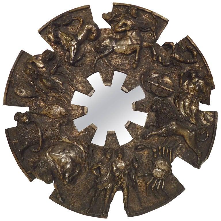 Large Zodiac Mirror by Finesse Originals
