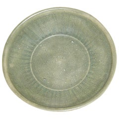 Celadon Plate from Burma, circa 15th-16th Century