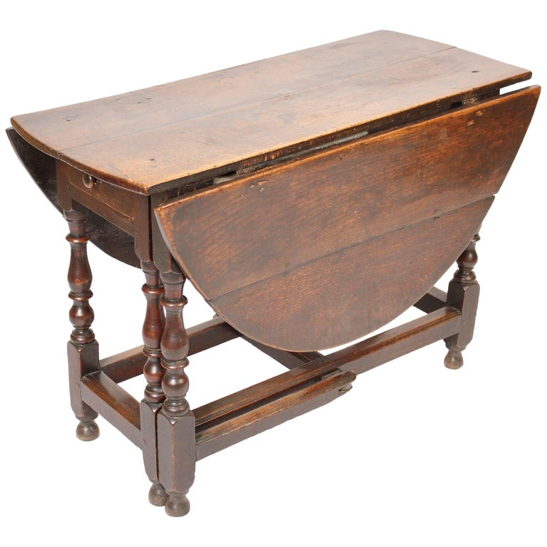 Antique English Oak Gate Leg Table For Sale At Stdibs - Antique gateleg tables