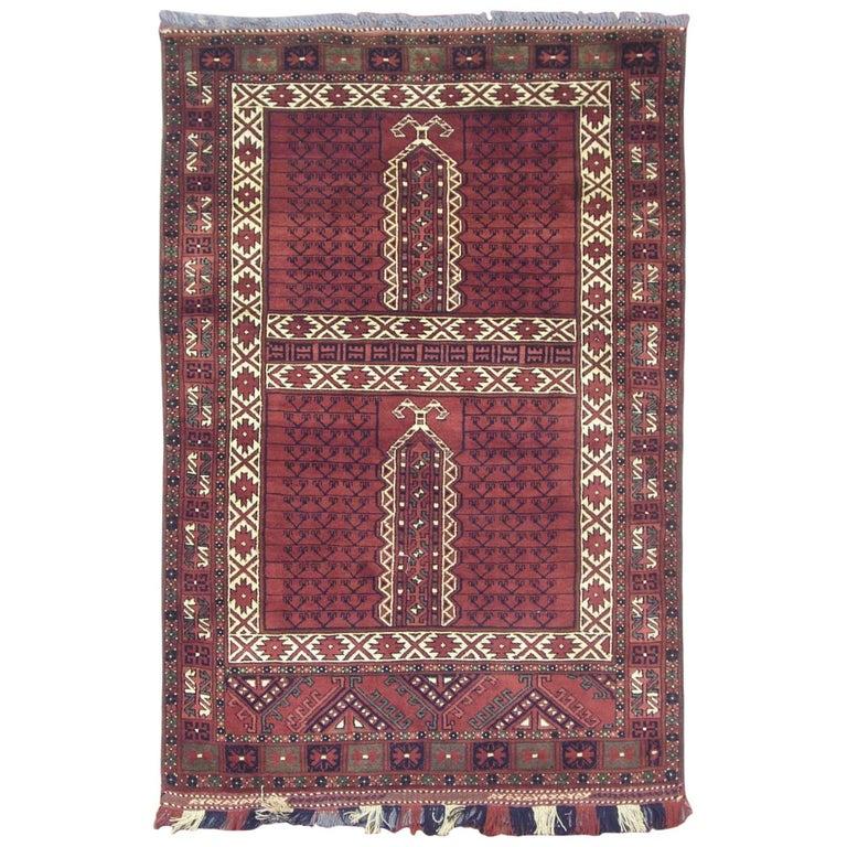 Fine Hatchli Turkoman Tribal Khal Mohmadi Rug For Sale At