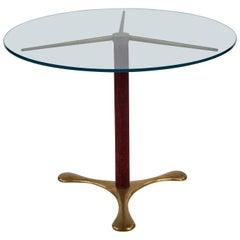 Circular Side Table by Paolo Buffa