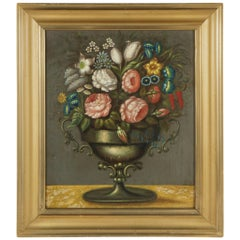 Early 19th Century Oil on Canvas Painting from the Estate of Bunny Mellon