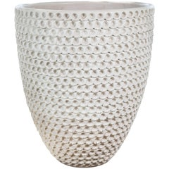 Hand Coiled Thumbprint Pot by Stan Bitters