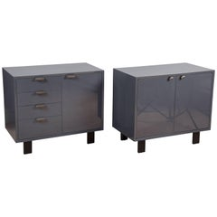 Pair of Lacquered Chests by George Nelson for Herman Miller