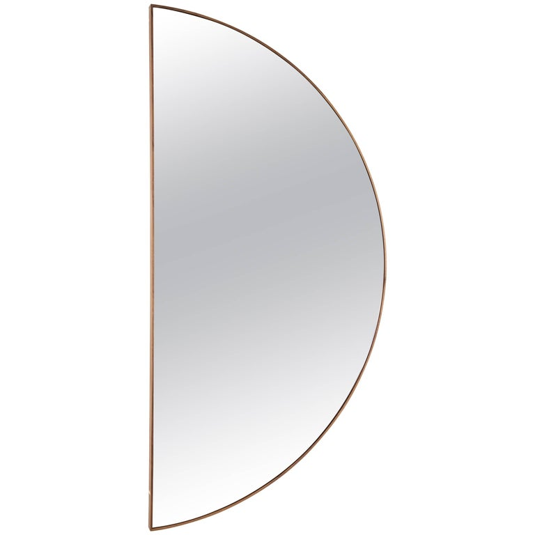 Half Circle Mirror by Bower
