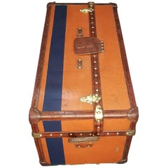 Louis Vuitton Vuittonite Canvas Malle Ideale Trunk