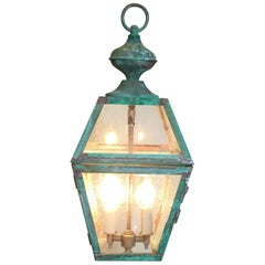 Hanging Copper Lantern