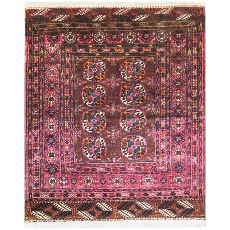 Antique Turkoman Ersari Carpet At 1stdibs