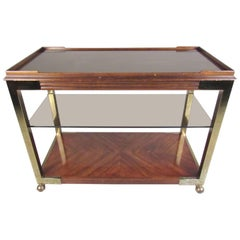 Vintage Two-Tier Service Cart by Drexel Heritage