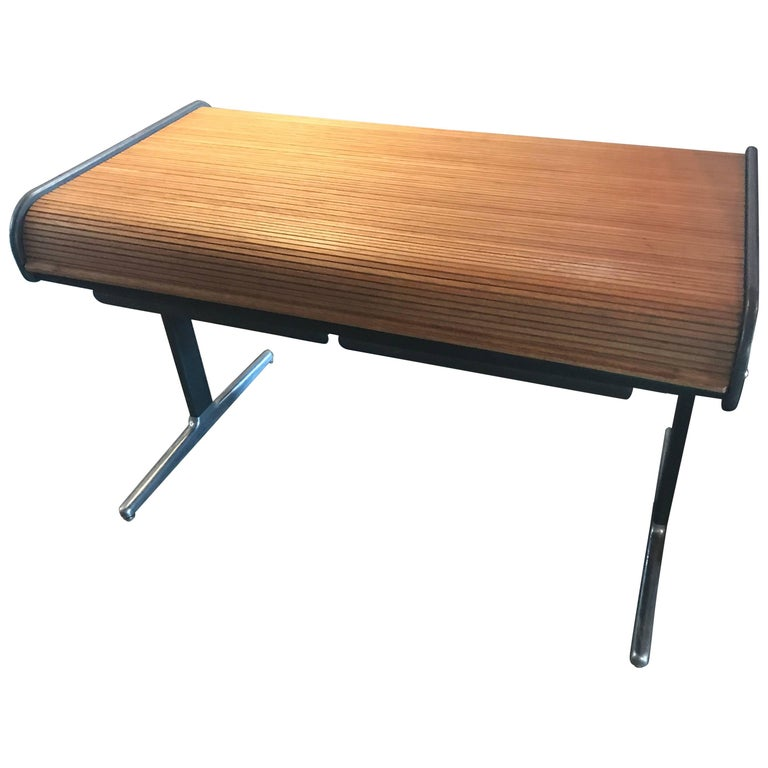 George Nelson Herman Miller Roll Top Office Desk