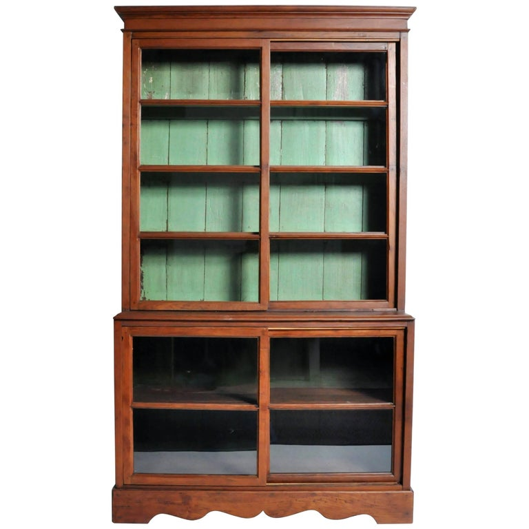 British Colonial Display Cabinet For Sale At 1stdibs