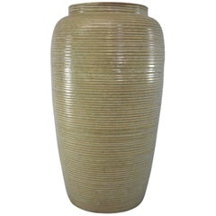 Mid-Century Monmouth Pottery Large Floor Vase
