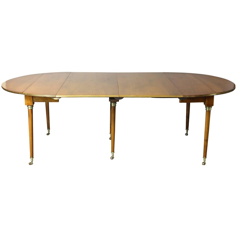 Early 19th Century French Directoire Extending Dining Table 1