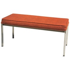 Vintage Florence Knoll Parallel Bar Bench Seat