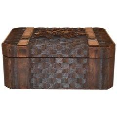 19th Century Black Forest Dresser Box