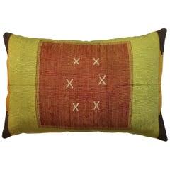 Large Moroccan Cactus Silk Pillow