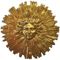 Brass Helios Clock Pendulum