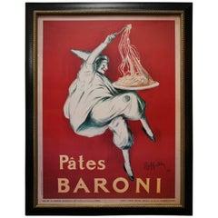 """Large-Scale Poster of """"Pates Baroni"""" Ad by Leonetto Cappiello"""