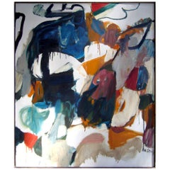 Dorothy Houston Abstract Expressionist Oil on Canvas