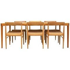 Dining Set of HW Klein for Bramin Møbler