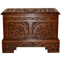 Late 19th Century Miniature Blanket Chest