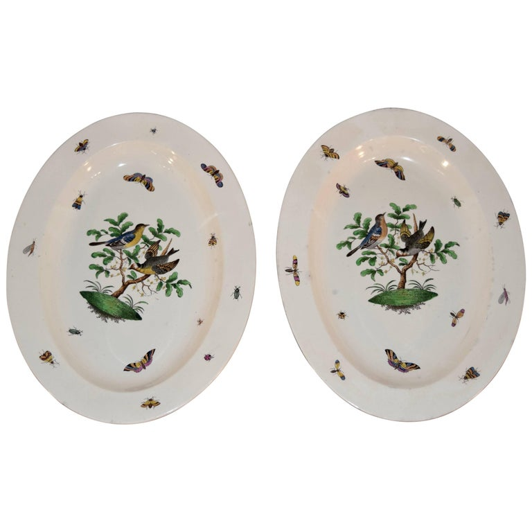 Pair of 19th Century Wedgwood Creamware Platters