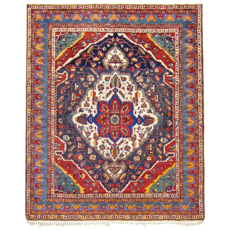 Rustic Rugs Topeka Ks: Traditional Beluc Afghani Rug In Red And Faded Brown