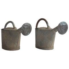 Zinc Watering Cans, circa 1920