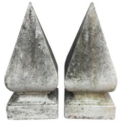 Large English Garden Stone Obelisk or Pyramid Copings 'Individually Priced'